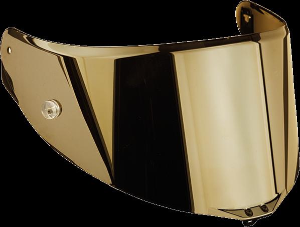 AGV Visor - Race-2 - Gold Iridium