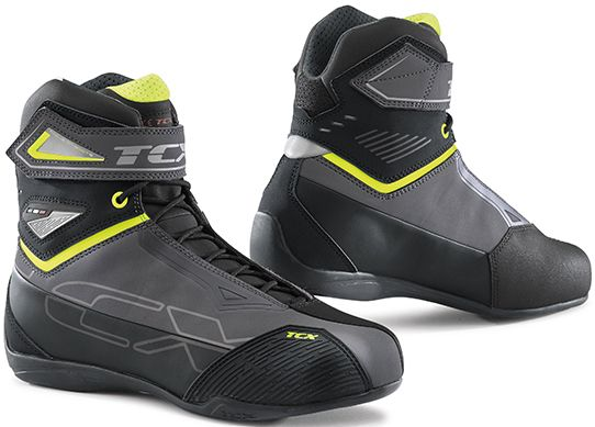 TCX Rush 2 WP Boots - Grey/Fluo Yellow