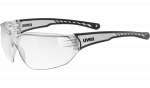 Uvex Sportstyle 204 Sunglasses - Clear - 9118