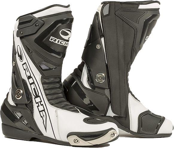 Richa Blade WP Boots - Black/White