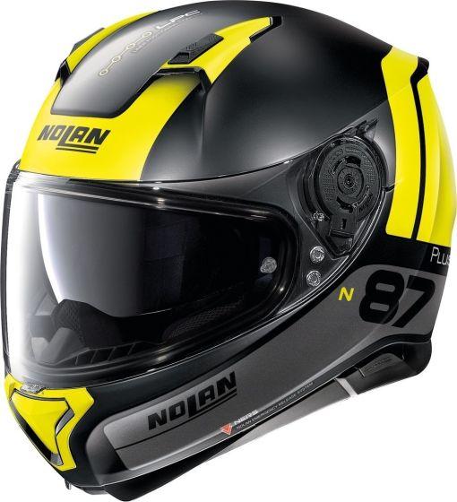 NOLAN N87 SPECIAL PLUS N-COM METAL BLACK XXXL