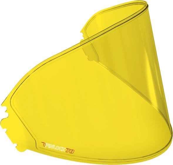 HJC Pinlock Insert - HJ-07/HJ-09/HJ-17 - Yellow (DKS088)