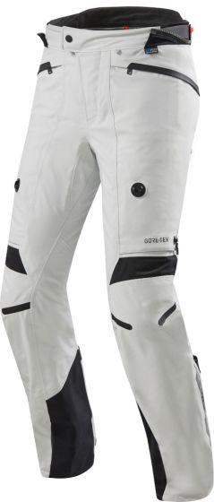 Rev-It! Poseidon 2 GTX Motorcycle Textile Trousers - Silver/Black