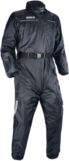 Oxford Rainseal Over Suit - Black