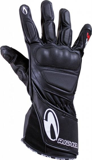 Richa WSS Leather Gloves - Black