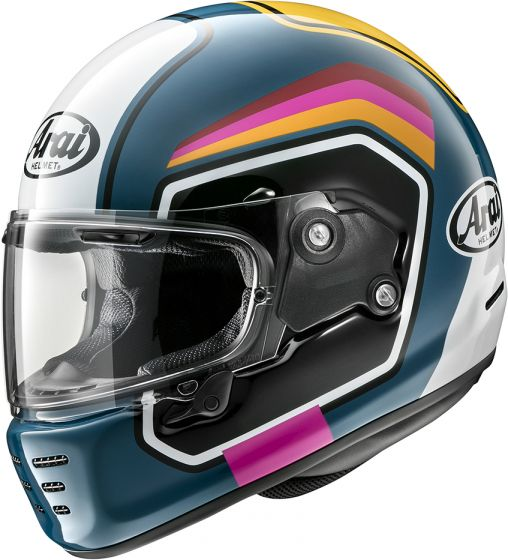 Arai Rapide - Number Blue