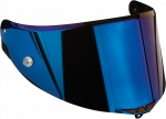 AGV Visor - Race-2 - Blue Iridium