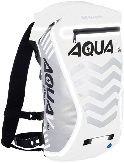 Oxford Aqua Luggage - Aqua V20L Backpack - White