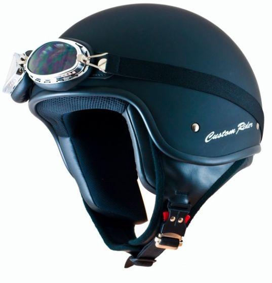 MT Custom Rider - Solid Matt Black
