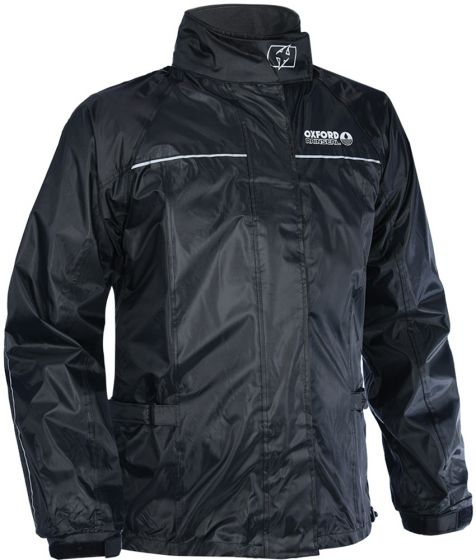 Oxford Rainseal Over Jacket - Black