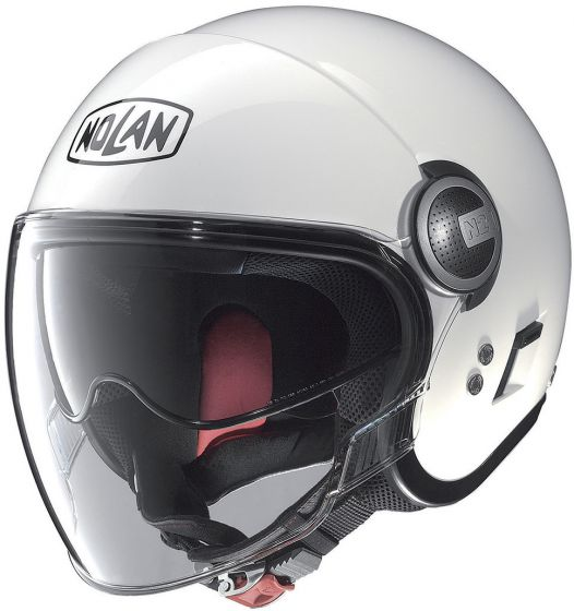 Nolan N21 Visor - Classic Metal White 005