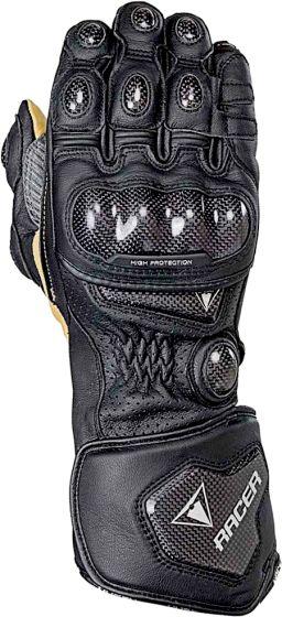 Racer High Racer Gloves - Black