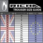 Richa Colorado Textile Trousers - Black/Fluo
