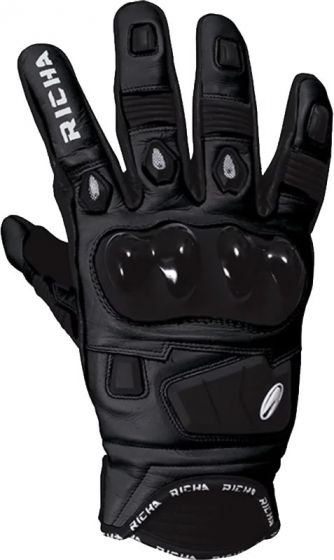 Richa Rock Gloves - Black