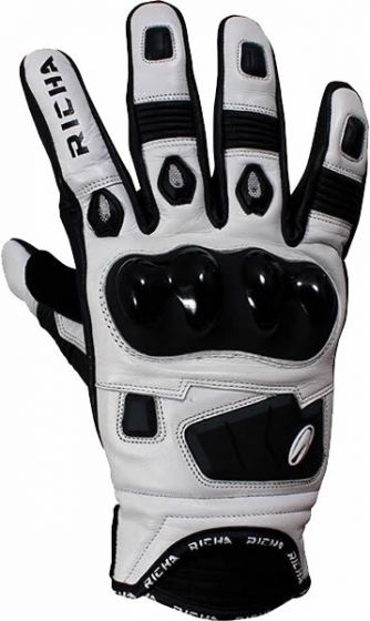 Richa Rock Gloves - Black/White