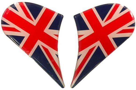 Schuberth M1 Side Cover Sticker Set - UK Flag