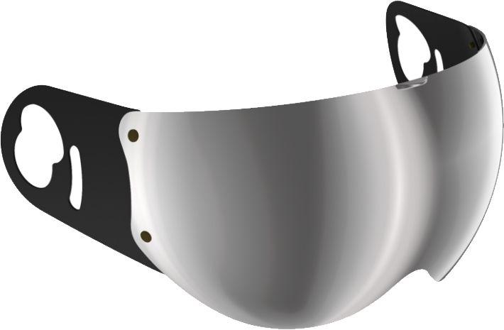 Roof Visor - Boxer V8 - Silver Mirror