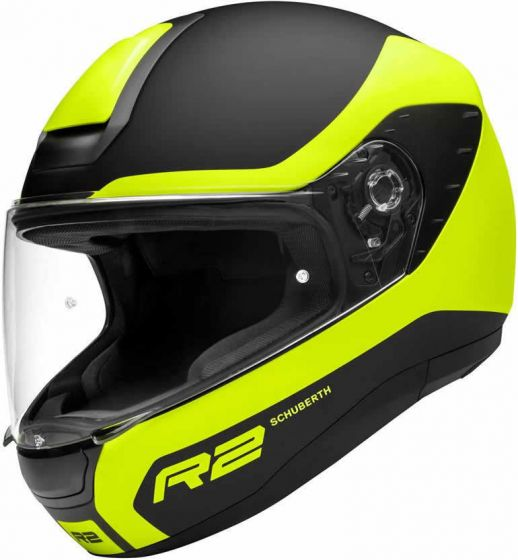 Schuberth R2 Nemesis Yellow - Save £240! + FREE Visor