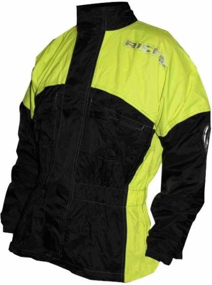 Richa Rain Warrior Jacket - Black/Fluo