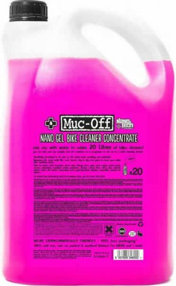 Muc-Off - Nano Gel Cleaner Concentrate (5 Litre)