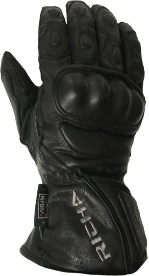 Richa WP Racing Leather Gloves - Black