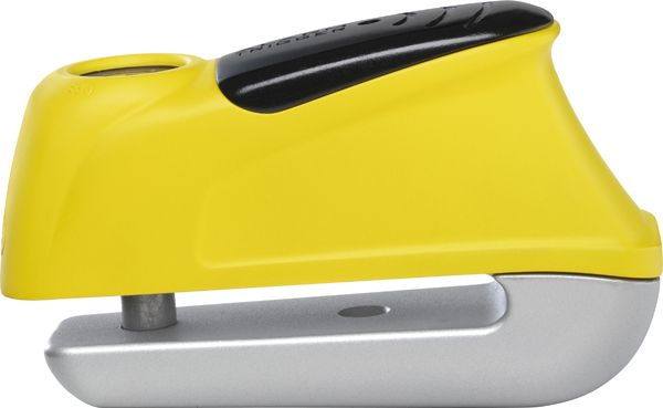 Abus Trigger Alarm 350 Disc Lock 9.5/50mm - Yellow