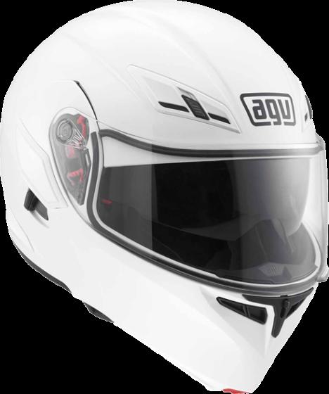 AGV Compact-ST - Plain - White