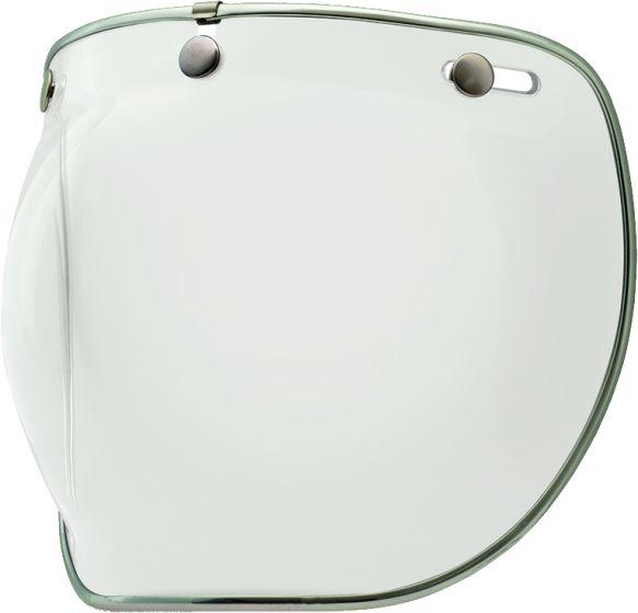 Bell Visor - Custom 500 - Deluxe 3 Snap Bubble - Clear