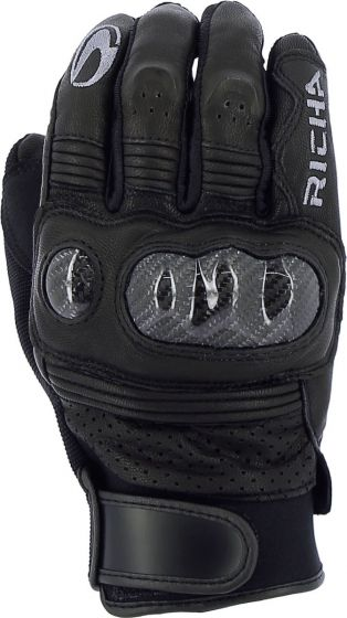 Richa Protect Summer Gloves - Black