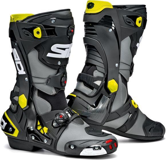 Sidi Rex Boots - Grey/Black/Yellow