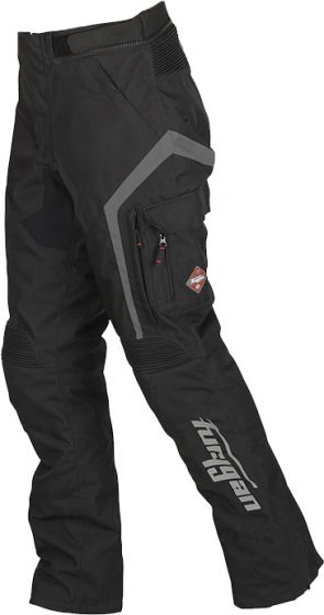 Furygan Apalaches Textile Trousers - Black
