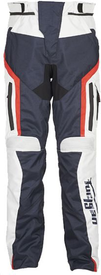 Furygan Apalaches Textile Trousers - Blue/Pearl/Red