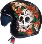 MT Le Mans 2 SV - Skull & Roses Red