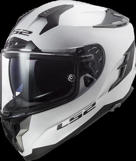 LS2 Challenger - Gloss White