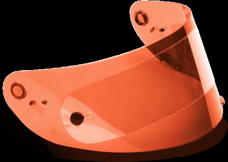 Bell Visor - RS-1/Qualifier - Race - Hi-Def - Orange