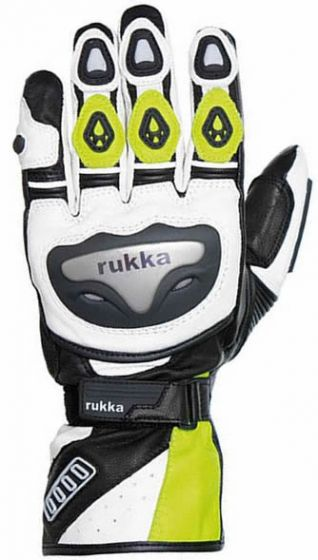 Rukka Argosaurus GTX Gloves - Black/Yellow - SALE