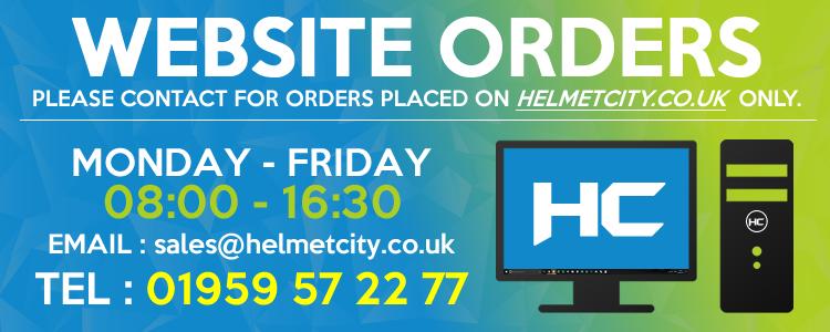 Helmet City Website and Online Orders