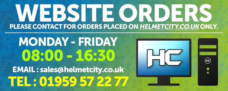Helmet City Website and Online Orders