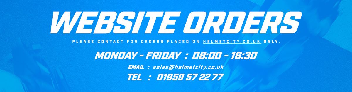 Helmet City Web Orders