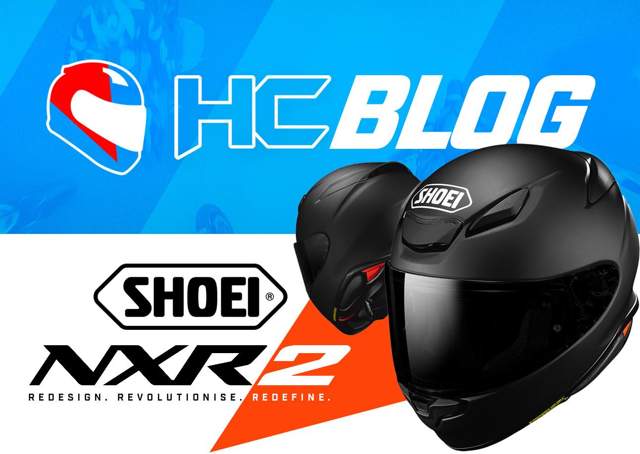 Shoei NXR 2 - NXR2 arriving in 2021 to Helmet City