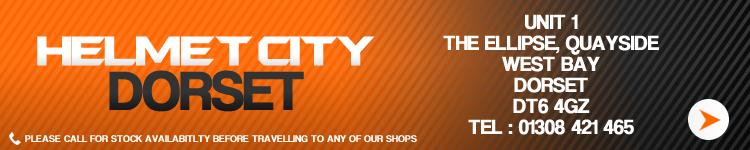Helmet City Dorset, 01308 421 465, CLICK FOR MORE INFO
