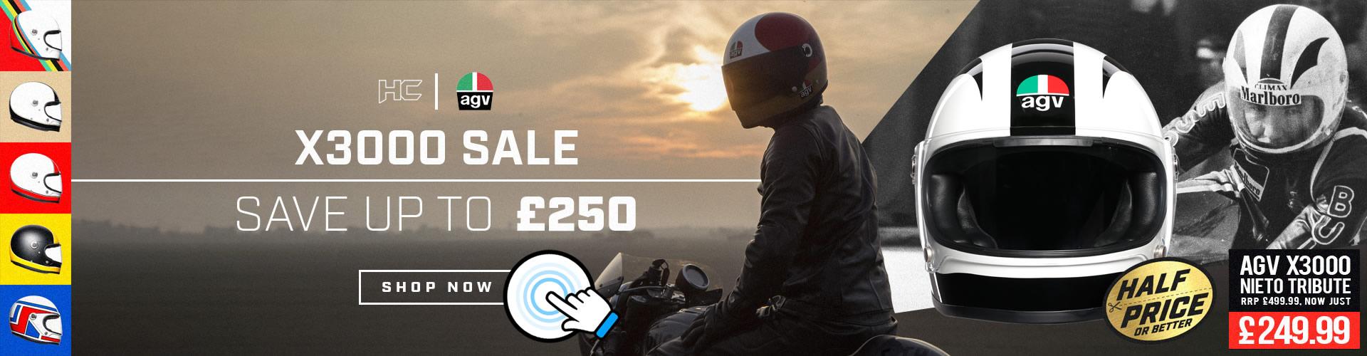 AGV X3000 Helmets on SALE