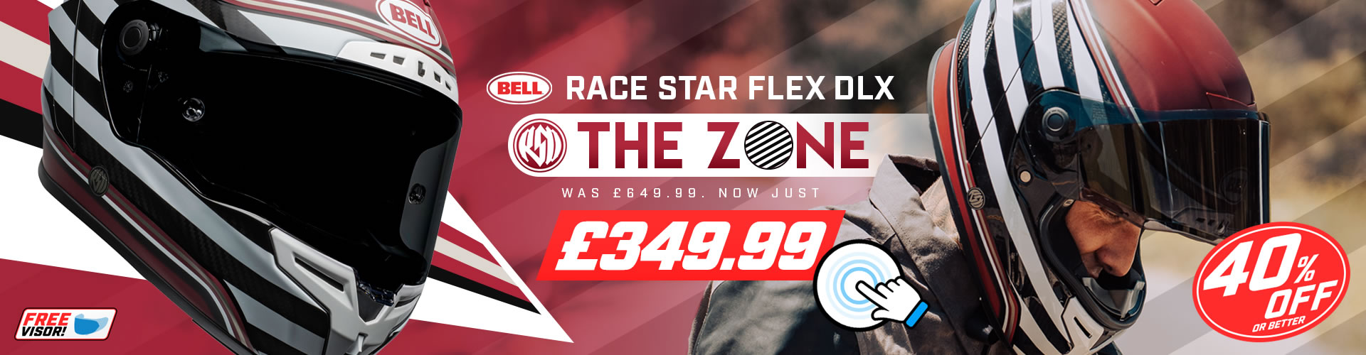 Bell Race Star Flex DLX - The Zone on SALE