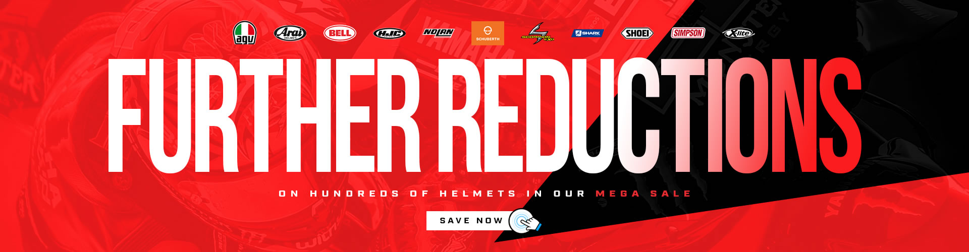 Further Helmet Reductions at Helmet City