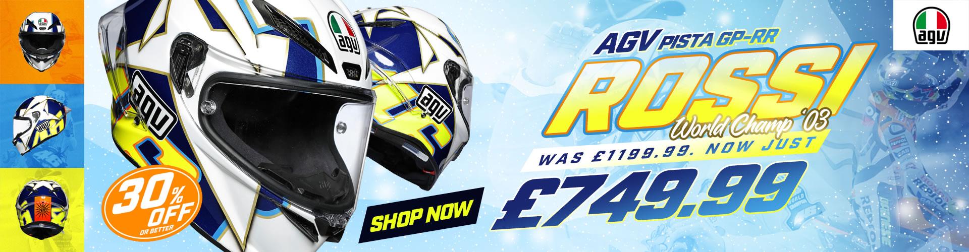 AGV Pista GP-RR - Rossi World Champ Sale
