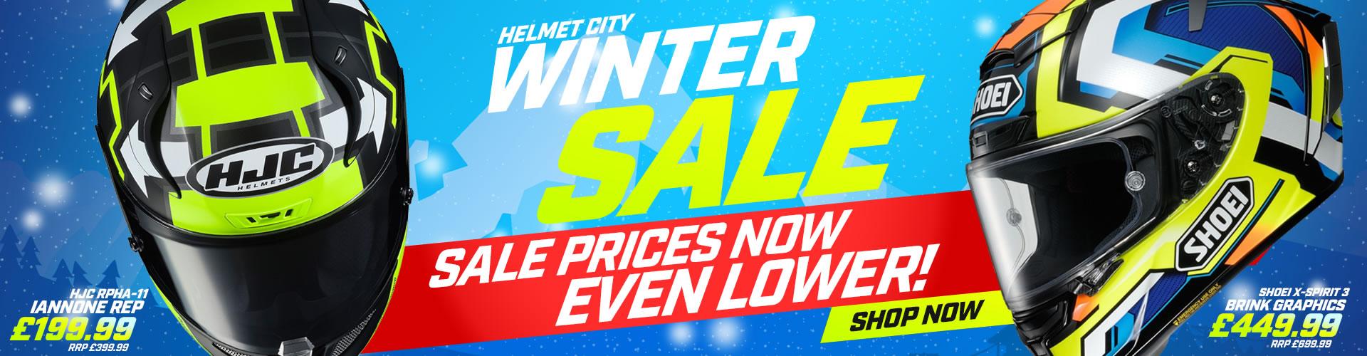 Winter SALE Helmets from Helmet City!