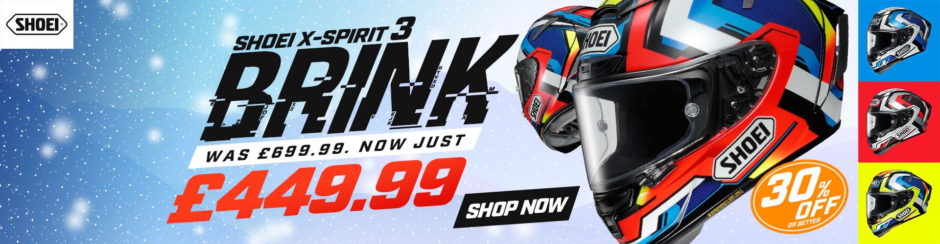 Shoei X-Spirit 3 Brink SALE!